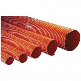 Gaine V9 Silicone Silicon Hoses 250°C 127mm Orange -1m