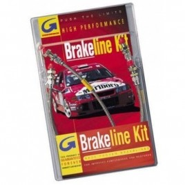 Kit Flexible de Frein Goodridge VK4 Twingo 2 RS 42cm