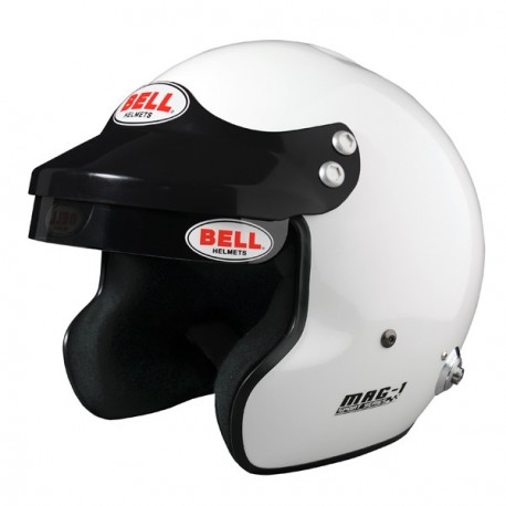 Casque BELL MAG1 + clips HANS
