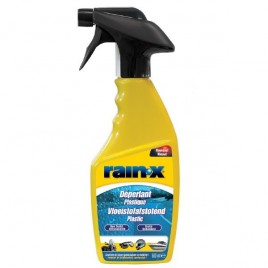 DEPERLANT RAIN'X PLASTIQUE 500ML