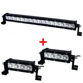 Pack 3 Phares LED (1 SW-16 y 2 SW-4)