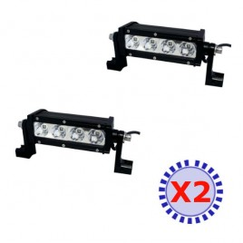 Pack 2 Phare LED Pro SW-4 noir 4 Modules 3600 Lumens 40w