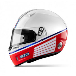 Casque Sparco Air Pro RF-5W Martini Racing Rayure